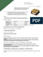 activity - smore stoichiometry 1112