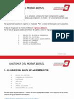 Anatomía del motor Diesel