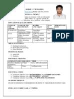 Yogaraj Resume