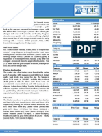Special Report by Epic Research 15 January 2014