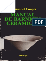 Cooper, Emmanuel - Manual de Barnices Ceramicos
