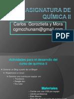 Presentacion Quimica II