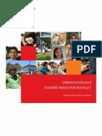 Dentistry Orientation Book 2012