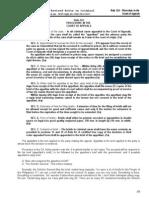 Rule 124 Procedure in d CA