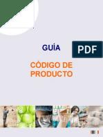 Guia Codigo de Producto 2012