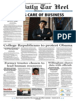 The Daily Tar Heel for January 15, 2014