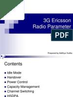 3g Radio Parameter Ericsson