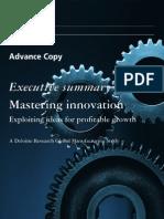 Mastering Innovation
