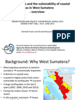 Coastal vulnerability of West Sumatera (an Overview)