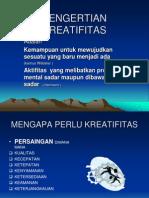 KREATIFITAS