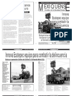 Versión impresa del periódico El mexiquense 9 enero 2014