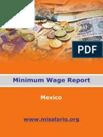 Mexico Minimum Wage