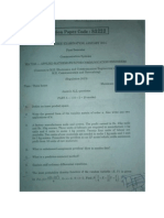 Applied Mathematics for Communication Engineers
