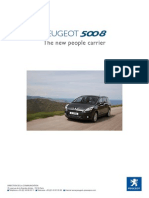 Peugeot 5008 Infopack