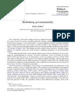 Rethinking Governmentalitiy