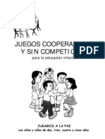 Juegos Cooperativos y Sin Competicion Para La Educacion Infantil