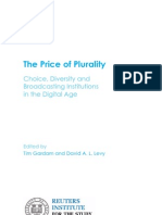 The Price of Plurality 01