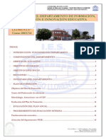 Plan Anual Dpto Fei 2013-14