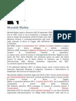 Biografia di Mattia Moraldi