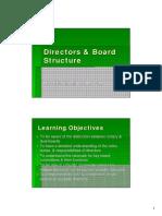Directors & Board Structure
