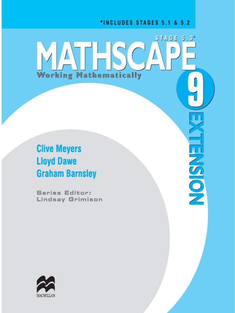 Mathscape 9 Extention   Significant Figures   Fraction (Mathematics)