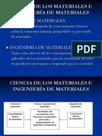 Introducción a ingenieria de materiales