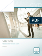 Cisco VPN WAN Technology Design Guide
