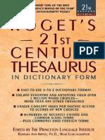 Roget s 21st Century Thesaurus (3rd Edition)