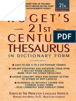 Roget s 21st Century Thesaurus (3rd Edition)