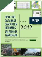 Final Report Updating Database Dan Sistem Informasi Jalan Kota Tangerang