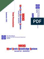 ROCKS - Documentation - Power PointPresentation (Version 2.01)