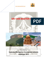 SRIVARI MASTER PLAN FOR TIRUMALA Prepared by SISTA VISHWANATH,Director (Planning),HYDERABAD METROPOLITAN DEVELOPMENT AUTHORITY