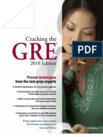 Cracking the GRE 2010 Edition