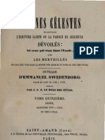 Em Swedenborg ARCANES CELESTES TomeQuinzieme 2sur2 Exode XXIX Numeros 9974 10166 LeBoysDesGuays 1853