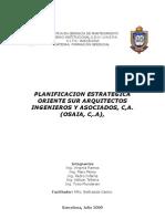 EJEMPLO DE PLANIFICACION ESTRATEGICA