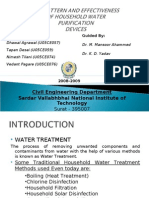 Water Purifying Devices
