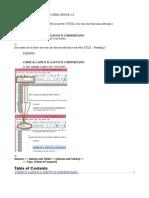 [OpenOffice 4.0] Come Mettere Un INDICE Nel Testo