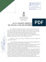 Acta Sesión Ordinaria 05-12-13
