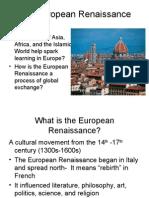 Intro to Renaisssance
