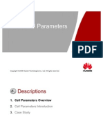 Huawei GSM Cell Parms