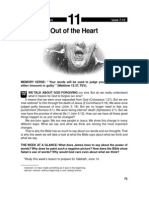 Out of the Heart 7-13 Jun 2033