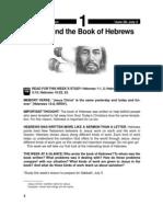 Jesus and the Book of Hebrews 28 Jun - 4 Jul