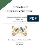 [ITA] -Journal of Eurasian Studies 2014 - Brilliant Classics Releases