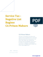 Service Tax E Book by CA Pritam Mahure