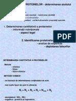 Analiza Aminoacizi Proteine