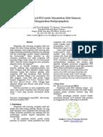 IES 2013 - Analisa Sinyal EEG untuk Menentukan Sifat Manusia