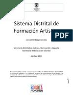 LINEAMIENTOS GENERALES SDFA