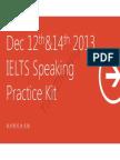 IELTS Speaking (Dec 21 2013)
