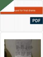 storyboard for final drama
