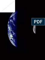 PIA02441_Earth and Moon as Viewed by Mariner 10